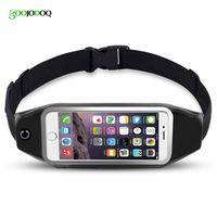 GOOJODOQ Universal 6 inch Waterproof Sport GYM Running Waist Belt Pack Phone Case Bag