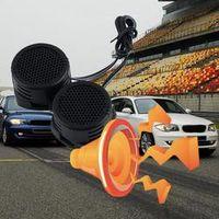 IZTOSS 1Pair Universal High Efficiency Car Styling Mini Dome Tweeter Loudspeaker