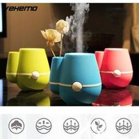 Vehemo Vase Humidifier Mist Maker Auto Air Purifier Mini Diffuser Room