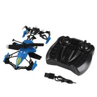 YKS Remote Control 2 in 1 Air-Ground Flying RC Drone 3D Car