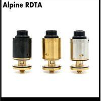Alpine RDTA Atomizer E Cigarette 3ml capacity tank 24mm Diameter Vaporizer For 510 Box Mod