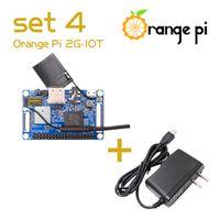 ORANGEPI Set4: Orange Pi 2G-IOT US OTG Power Supply ARM Cortex-A5 32bit Bluetooth
