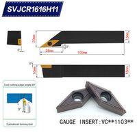 SWIS SVJCR1616H11 93 Degrees External Turning Tool Holder For VCMT110304 VCMT110308