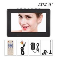 "LEADSTAR Portable ATSC 9"" 16:9 Digital Television TV TFT LED 1080P HD HDMI Video"