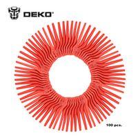 DEKO 100pcs Swing Plastic Blade Pendants for DKGT06 20V Lithium 1500mAh Cordless
