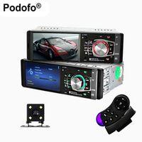 Podofo 1 Din Auto 4.1'' HD Car Multimedia Player MP3 MP5 Audio Stereo Radio Bluetooth