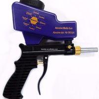 LEMATEC Gravity Feed sand spray gun for rust remove Sandblaster air tools