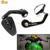 """CK CATTLE KING CATTLE Universal Motorcycle Bar End Rearview Mirrors 7/8"""" For BMW"""