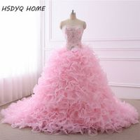 HSDYQ HOME Quinceanera Dresses 2016 Ball Gown Sweetheart