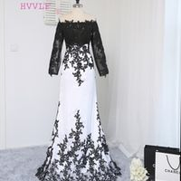 HVVLF Formal Celebrity Mermaid Long Sleeves Evening Dresses