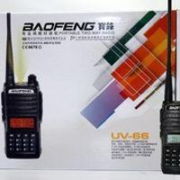 BaoFeng UV-66 Walkie Talkie CB radio 128CH 5W dual band VHF UHF 136-174MHZ/400-520MHz
