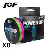 JOF 8 Strands Weaves 300M Extrem Strong Japan Multifilament PE 8 Braided Fishing Line
