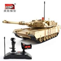 1:14 ultra large rc tank remote control car model Children's toys RC tank two different colors tanks can make live battle game
