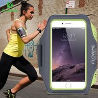 FLOVEME Running Sport Waterproof Armband For iPhone 7 6 6s Plus Case For Samsung 4.7