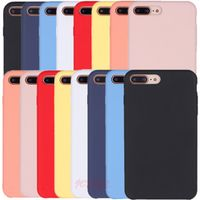 Yczsll Have LOGO Silicone Case For iPhone X XR XS Max 7 8 6S 6 Plus For iPhone