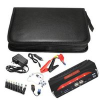 Cimiva Multi Function Car Jump Starter Portable 4 USB Supply Rechargeable Battery