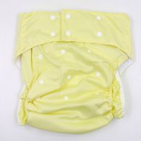 Solid Colors PUL Waterproof Washable Reusable Cloth Diapers Nappy incontinence Pants