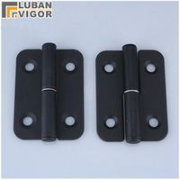 CL601 black Industrial machinery and equipment Loaded hinges,Mounted type Detachable hinge, Removable,industrial hinge