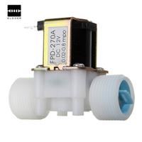 "TMOEC Plastic Electric 12V Water Solenoid Valve DC 3/4"" N/C"