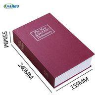 Factory direct simulation English dictionary safe mini-books money box storage box creativity Vault 240 * 155 * 55