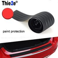 Thie2e Sticker trunk Auto Accessories Rubber Car Protection For Nissan TIIDA NOTE