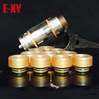 810 PEI drip tips TFV8 TFV12 Drip Tips E Cigarette wide bore Mouthpiece for Kennedy Mad Dog Tank RBA atomizer 100PCS/LOT