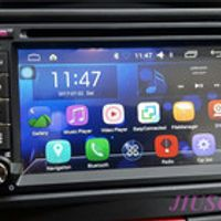 JIUSCAN Quad Core Android 6.0 Universal Car DVD Player GPS Navi Unit 2 Din Bluetooth