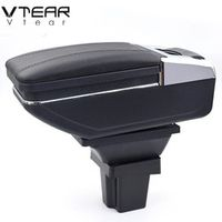 Vtear For Chevrolet Trax central Store content box products interior Armrest Storage