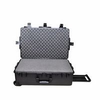 Tricases waterproof hard plastic equipment case M2950 with Foam for Sports Outdoors