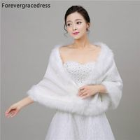 Forevergracedress Real Pictures Warm Faux Fur Stoles