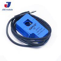 1PCS Non-invasive Split Core Current Transformer AC sensor 100A SCT-013-000