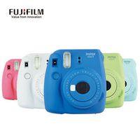 Fujifilm Instax Mini 8 Updated Version Camara Instantanea Mini 9 Film Instant Camera Close-up Shots Selfie Pink Green White Blue