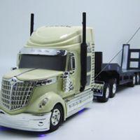 Kingtoy Detachable Kids Electric Big Rc truck Detachable Trailer Remote Control Wireless Truck Toy