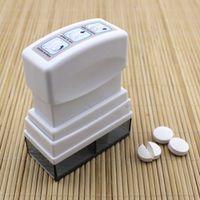 1Pc Tablet Pill Medicine Crusher Grinder Grind Splitter Cutter Safe Organize Box Home Travel Use