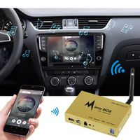 KKMOON Car Wifi Box for IOS Android Mobile Phone GPS Navigation LCD Monitors