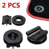 Auzan 2PCs Fixing Grips Clamps Floor Mats Holders Car Carpet Clips Anti-Slip