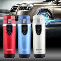 BOGU Best gift Car Electric Mug 12V Auto Travel Thermos Bottle Heating Cup Boiling