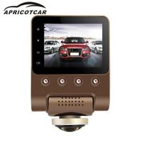 APRICOTCAR 360 Degree Panoramic Driving Recorder Hidden High-definition Night Vision