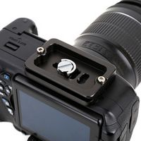 Black Color Camera Accessories Professional PU-60 Quick Release Plate 60mm For Universal Digital Cameras