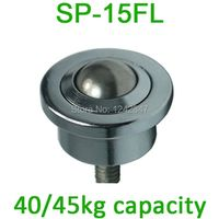 SP-15FL 15mm ball M8 bolt mount carbon steel 40/50kgs Load SP15FL Ball transfer units
