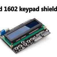 ZHIPU 2PCS X Keypad Shield LCD1602 character LCD input