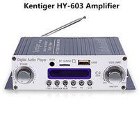 Kentiger HY-602 HY-603 HY-400 Audio HY Speaker HiFi Stereo Power Digital Amplifier
