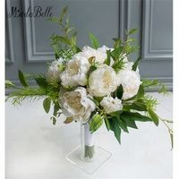 modabelle Elegant Flowers Bridal Bouquets Green Ivory