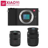 International Version M1 Mirrorless Digital Camera With YI 12-40mm F3.5-5.6 Lens