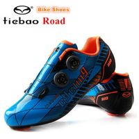 TIEBAO off Road Cycling Shoes men Ultralight Carbon Fiber Bike Shoes Mens PRO Racing Team Self-lokcing Athletic Bicycle Shoes