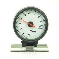 DRAGON GAUGE Universal 60MM stepping motor tachometer 0-10000 RPM 4/6/8 cylinder