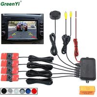 GreenYi Video Parking Sensor Reverse Backup Radar Assistance 16mm Flat According