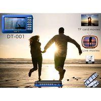 CARSOLJ Portable 4.3 inch Smart Outdoor Mini POCKET FM Radio with digital TV DVB-T2