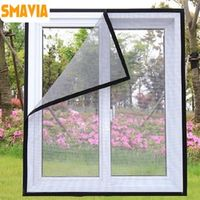 SMAVIA Summer Anti-Mosquito Screen Fiberglass Encryption