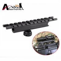 Z-TAC Alloy 20mm Scope mount Weaver Rail for Carry Handles Airsoft Shooting Hunting